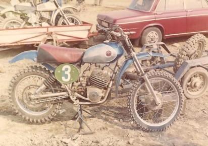 1974 Works CZ400
