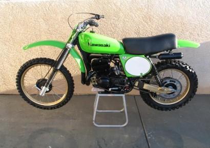1978 Kawasaki KX250A4