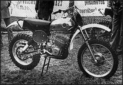 1975/76 Works CZ250