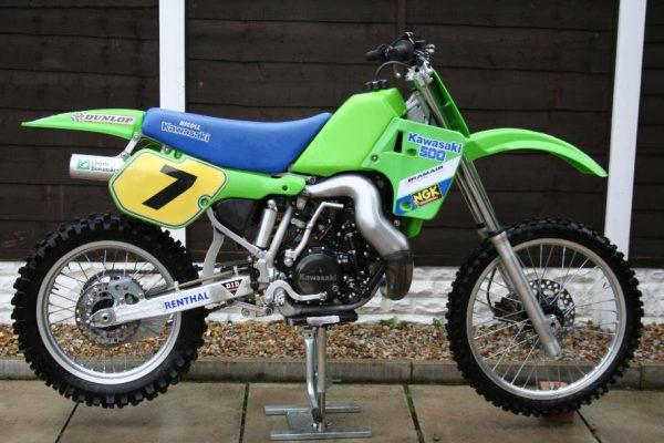 1987 Kawasaki SR500