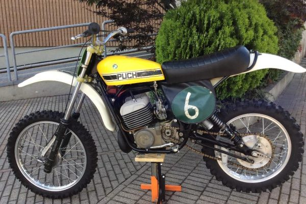 1976 Twin Carb Puch