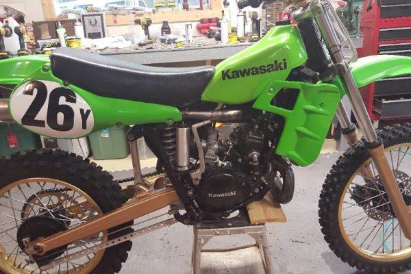 1982 Kawasaki SR250