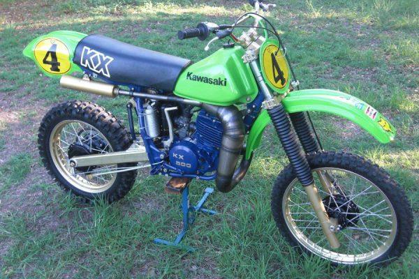 1980 Kawasaki SR500