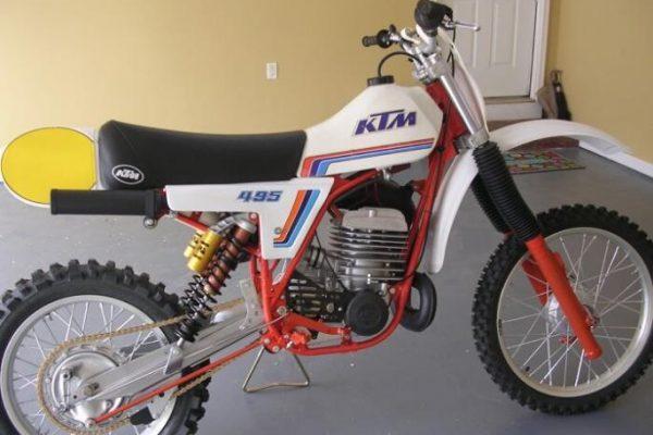 1981 KTM 495