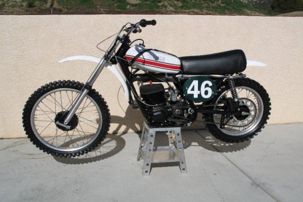 1973 Works Yamaha YZ250