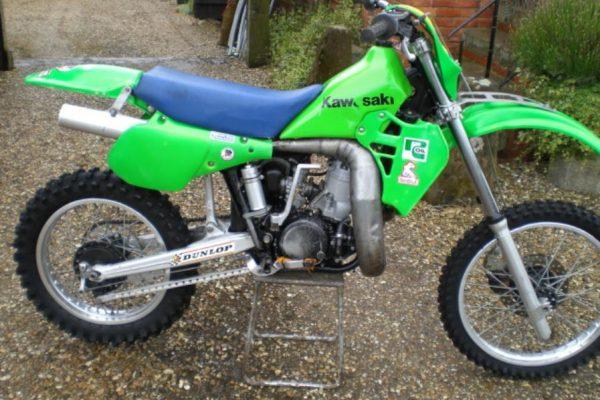 1983 & 1987 works Kawasaki SR500