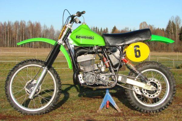 1978 Works Kawasaki SR380
