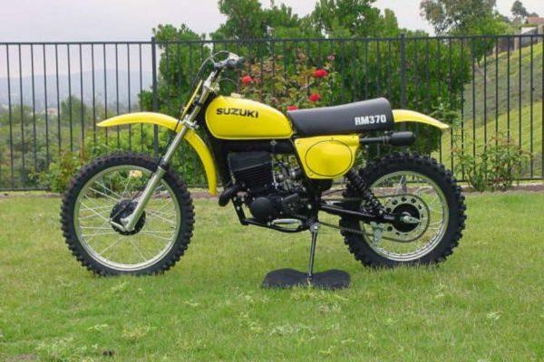1976 Suzuki RM 370