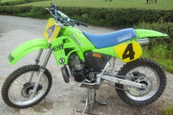 1986 Kawasaki SR500