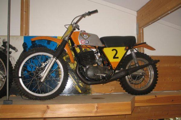 Ake Jonsson's 1972 Maico's