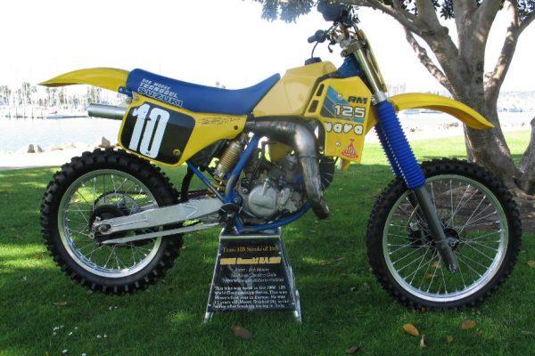 1986 Works Suzuki RA125