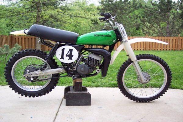 1976 Kawasaki SR 125
