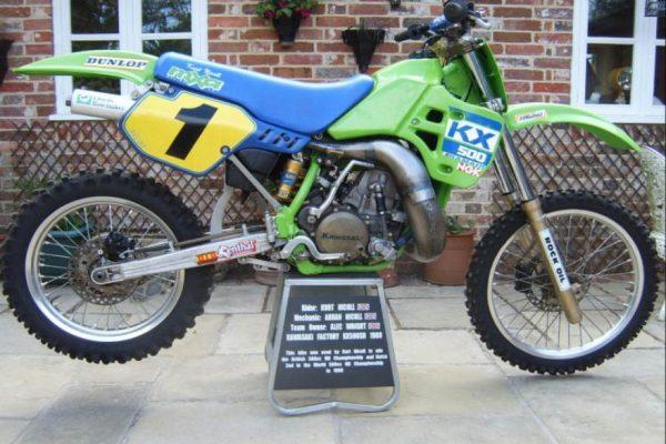 1988 works Kawasaki SR500