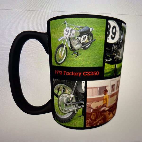 Greg Robertson's 1972 Factory CZ