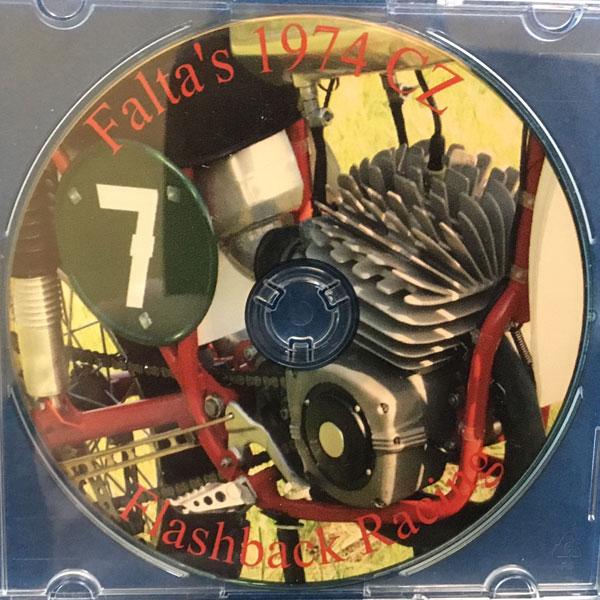 CD of the 1974 FALTA CZ250